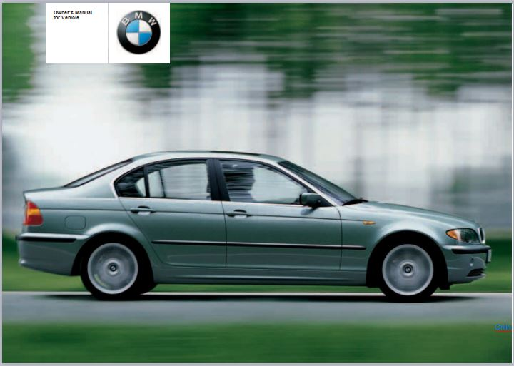 2004 BMW 330i Sedan User Manual