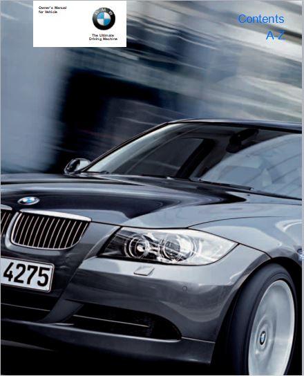 2005 BMW 330i Sedan User Manual