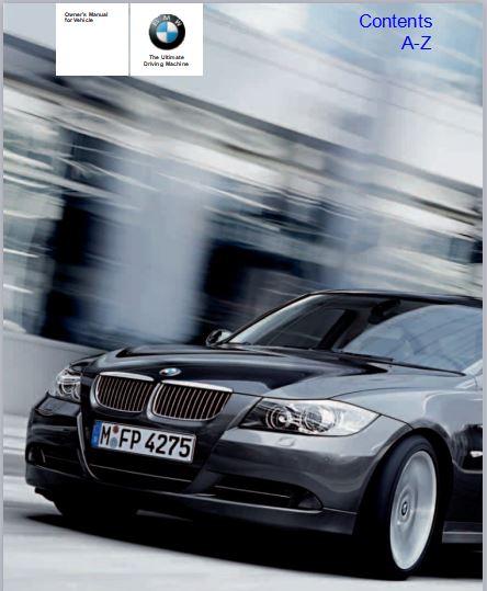 2006 BMW 325i Sedan User Manual