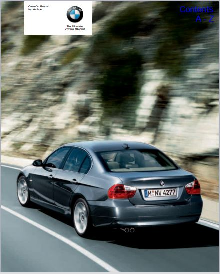 2006 BMW 325xi Owner's Manual