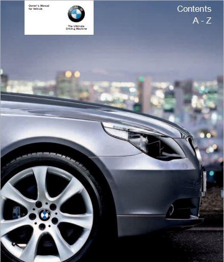 2006 BMW 525xi Sedan User Manual