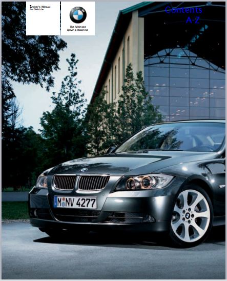 2007 BMW 328i Owners Manual