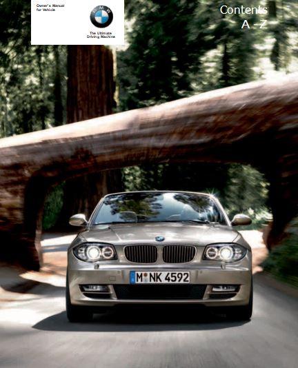 BMW 128i,135i Owner's Manual