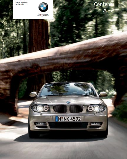 2011 BMW 128i Convertible Owner's Manual