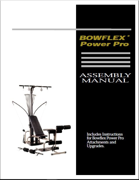 Bowflex XTL User Manual