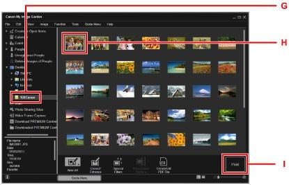 Canon G2000 Photo Print(Click)