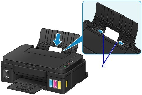 Canon G2000 Printing Photos from a Computer2