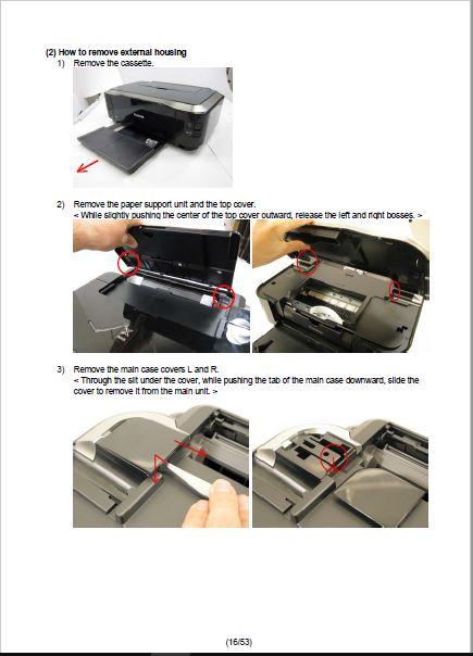 Canon IP4800 Series Service Manual