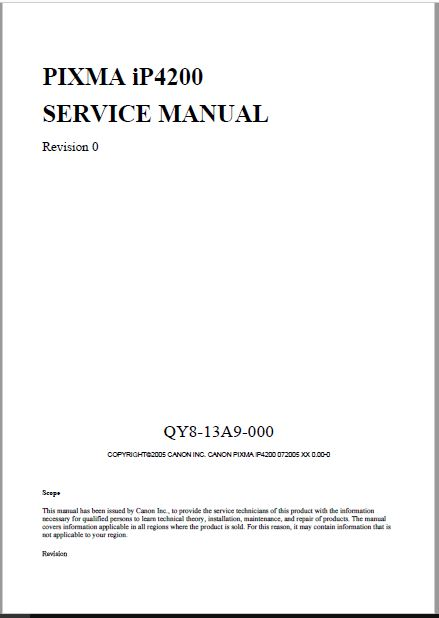 Canon pixma mp830 service manual.