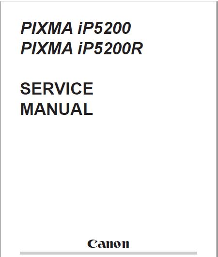 Canon pixma ip1600 service manual.