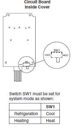 Emerson 16E09-101 Circuit Board Inside Cover