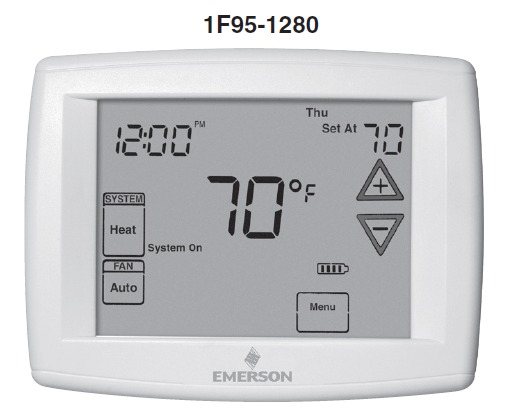 Emerson White Rodger 1F95-1280 Manual
