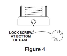 Locked Case - Concealed Dial