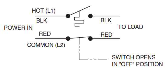 White Rodgers B50 Scematic Diagram