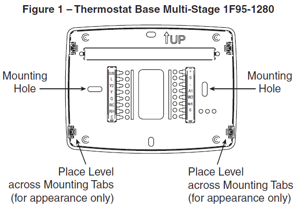 Thermostat Base Multi-Stage 1F95-1280