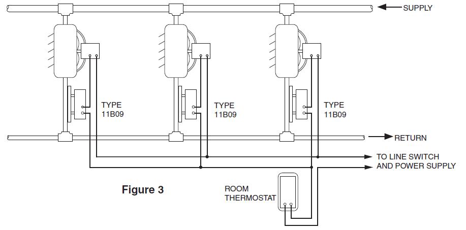 White Rodger TYPE 152 Wiring Diagram