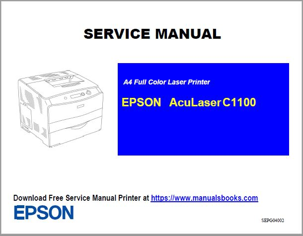 EPSON AcuLaser C1100 Service Manual