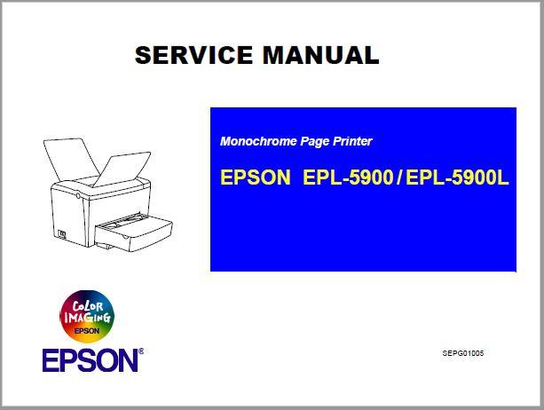 Epson EPL-5900-5900L Service Manual