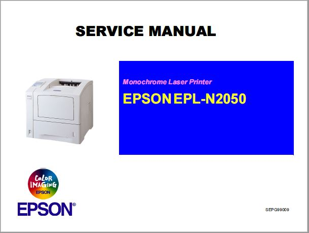 Epson EPL-N2050 Service Manual