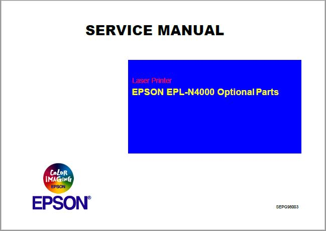 Epson EPL-N4000 Optional Parts