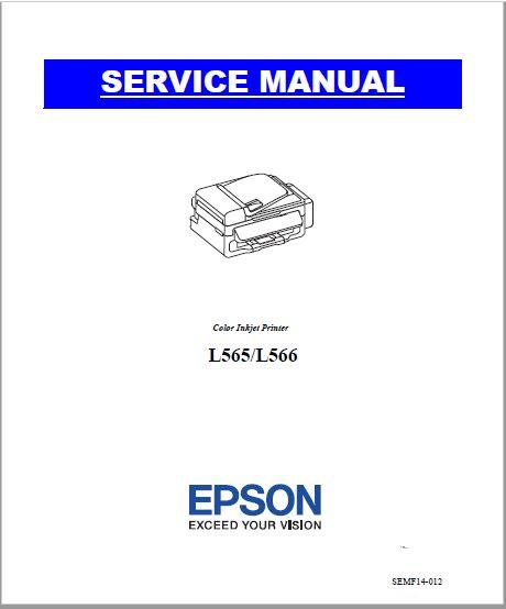 Epson L565, L566 Service Manual