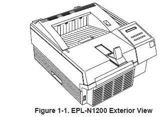 exterior view of the EPL-N1200
