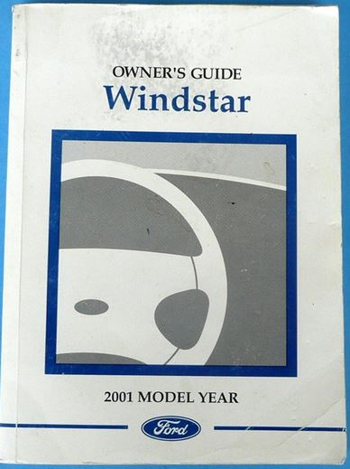 2001 Ford Windstar Owners Manual