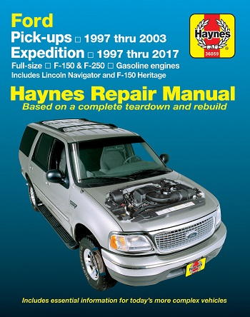 2003 Ford F-150 Service and Repair manual