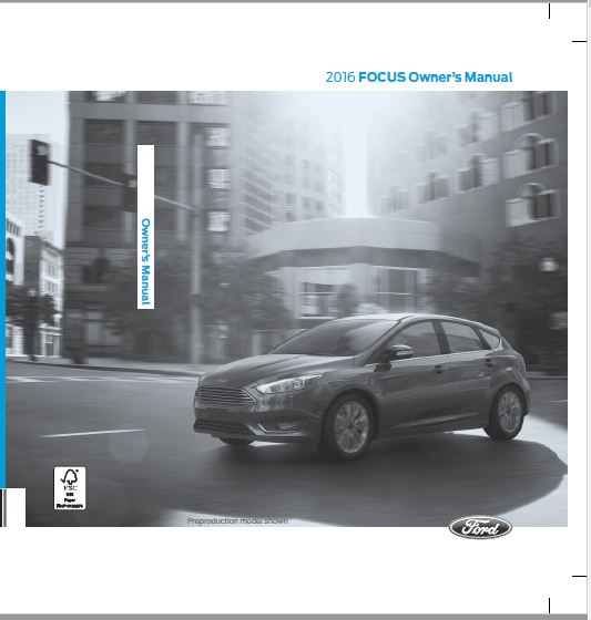 2016 Ford Focus Owners Manual