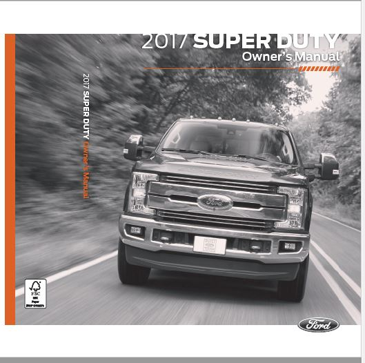 2017 Ford F-250 Owners Manual