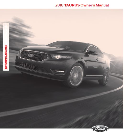 2018 Ford Taurus Owners Manual