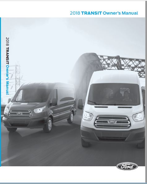 2018 Ford Transit Owners Manual