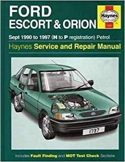 Ford Escort Service and Repair Manual