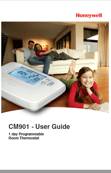 Honeywell CM901 Manual
