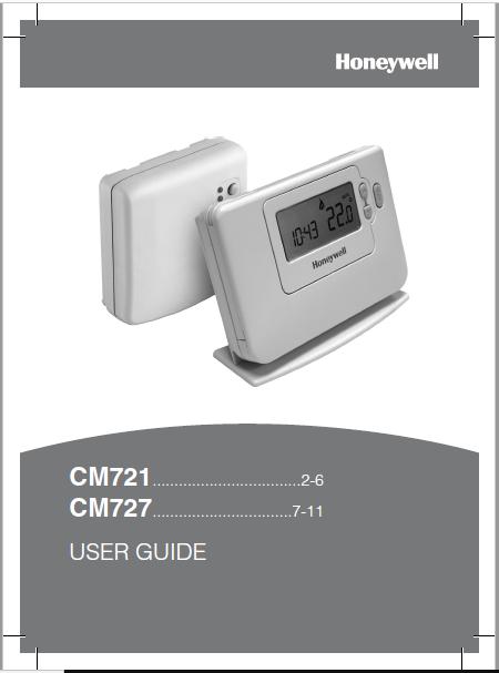 Honeywell CM721 User Guide