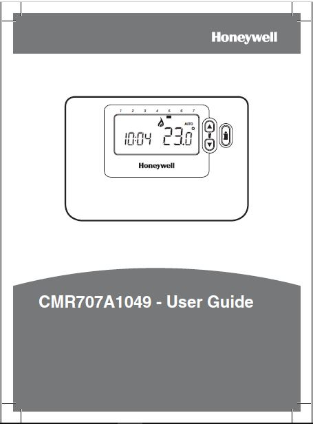 Honeywell CMR707A1049 User Guide