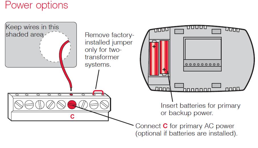 Honeywell FocusPRO® 5000 Power Option