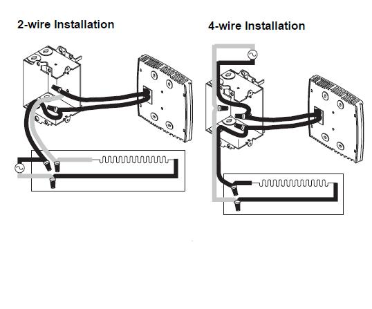 Honeywell RLV4300 Wiring