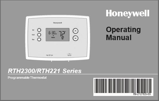 Honeywell Non Programmable Thermostat Wiring Diagram from www.manualsbooks.com