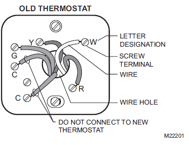Honeywell RTH7500D Installation