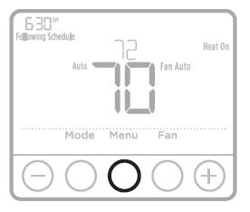 How to adjust Honeywell T4 Pro Program Schedule