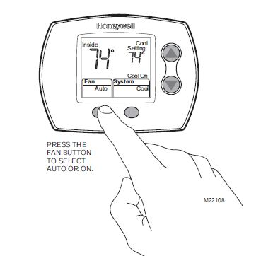 Operate Your Honeywell 1 Heat Cool Th5110D1022 Thermostat