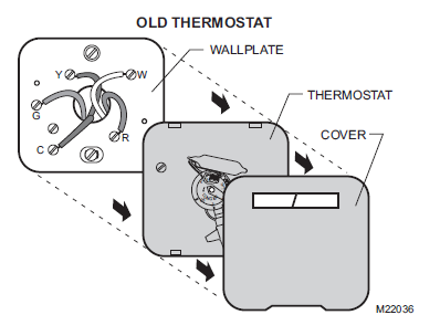 Remove Old Honeywell Thermostat