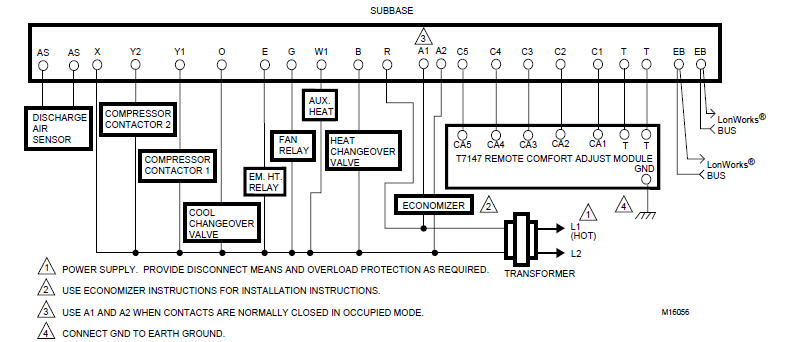 Typical T7300F/Q7300H application Diagram