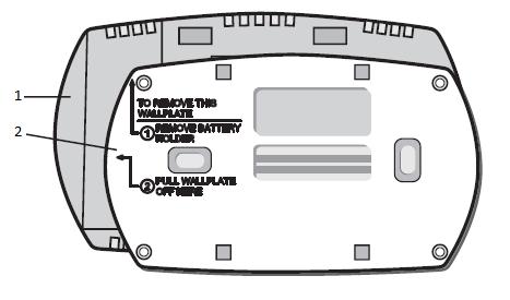 Honeywell FocusPRO® 5000 Wallplate installation
