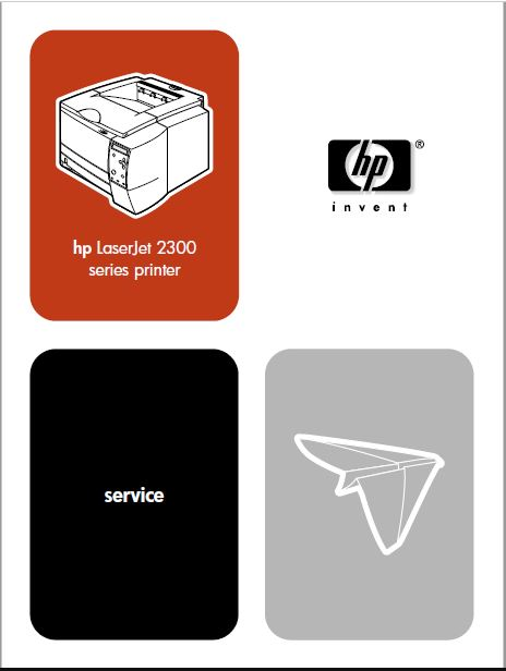 HP 2300 Printer Service Manual