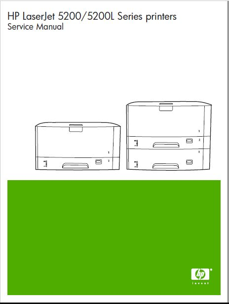 HP LaserJet 5200 Service Manual