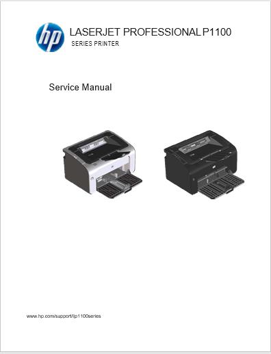 Hp P1100 P1102 Service Manual