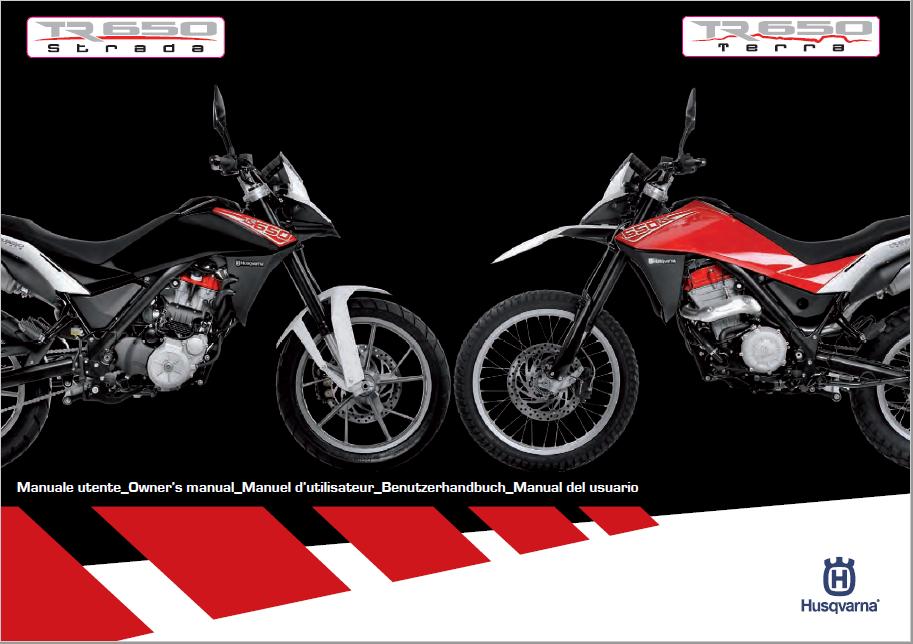 2012 TR650 Terra-Strada Owners Manual