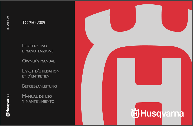 Husqvarna 2009 TC250 Owners Manual
